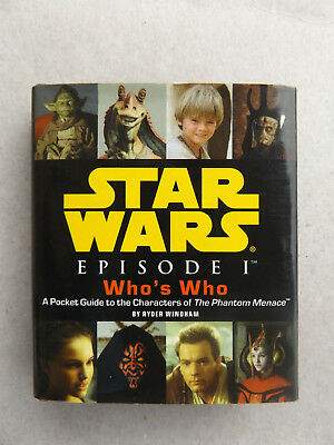 Star Wars - Episode I Who's Who - Mini Buch Hardcover