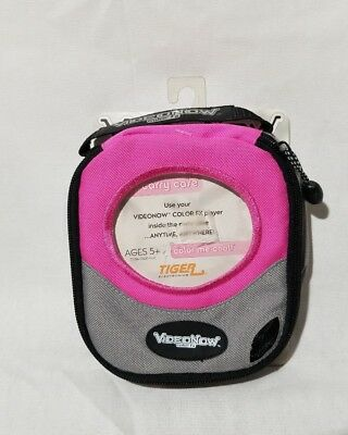 NEW NIP Hasbro Tiger VideoNow Color FX Carry Case Pink