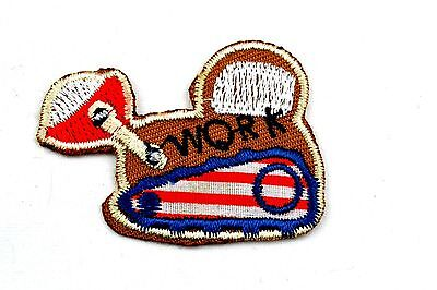 iron-on patch appliqué 10-966 Digger