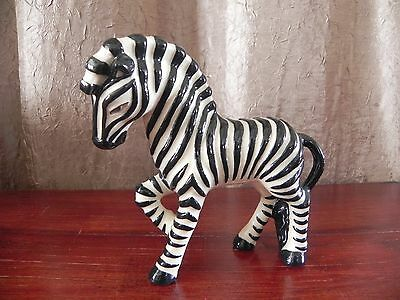 Ceramic Arts Studio American Art Pottery Zebra Figurine Betty Harrington
