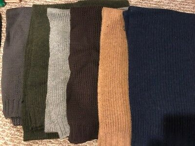 Lot Of 14 Lambswool Scarves