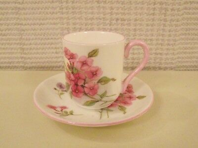 VINTAGE SHELLEY MINIATURE CUP & SAUCER - STOCKS - PATTERN No.13420