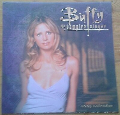 Buffy the Vampire Slayer 2003 Calendar, opened
