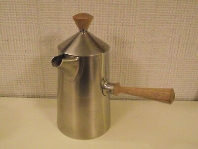 Vintage Old Hall Stainless Steel Coffee Pot - Robert Welch Campden Design