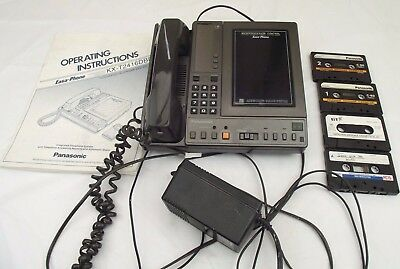 Panasonic Answering Machine Cassette 2 Tapes EASA-Phone KX-T2416DBE Ultra Rare