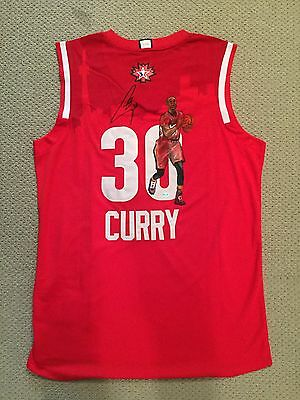 Stephen Curry Rare Painted Signed West All Star Adidas Jersey Coa / Holo