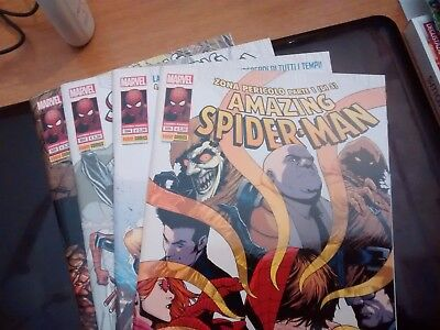 Albi Amazing Spiderman 592,593,594,595