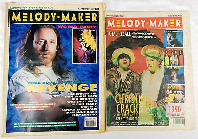 NEW ORDER Magazine Lot / Collection 1990 - Revenge Electronic