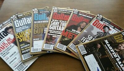 Lot Of 23 Recent Guitar Player Magazines: 2013-June 2017 Slash, Satriani, More!