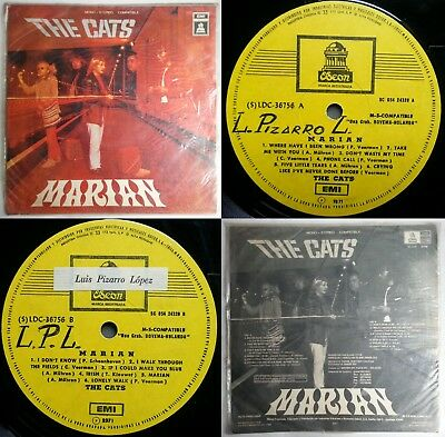 The Cats Take Me With You Incl Marian! Uniq Cvr & Bck Cvr Ps Chilean Press Only!