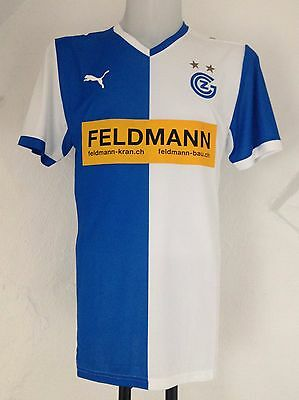 Grasshoppers Club Zurich Home Jersey 2012/13 By Puma Mens Size Large BNWT