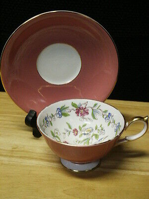 Aynsley Pembrooke Cup & Saucer Set  Great Condition