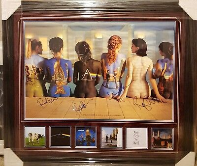 Pink Floyd - Band Signed Back Catalogue Poster w/ COA