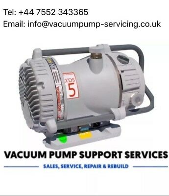 Edwards Xds 5 Dry Scroll High Vacuum Pump- Serviced- Warranty- £1295.00