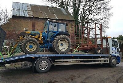 recovery .transport. tractor. unfinished projects. implements .vans.