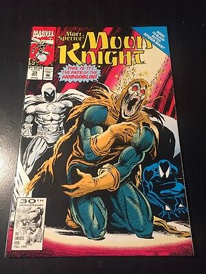 Marc Spector#33 Incredible Condition 9.0(1991) Hobgoblin, Black-suit Spider-Man!