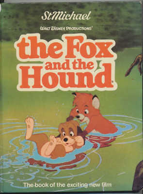 St. Michael **THE FOX AND THE HOUND** (Purnell Books, 1981) - Movie Adaptation