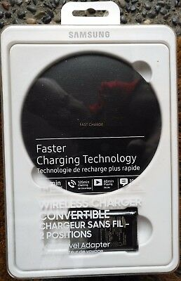Samsung Fast Charge Wireless Charging Convertible Stand w/AFC Wall Charger FREE!