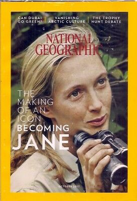 national geographic-OCT 2017-JANE GOODALL.