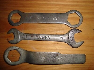 Yamaha Vintage Motorcycle Tool Kit  Spanners Wrench Rd350 Rd250 Diversion