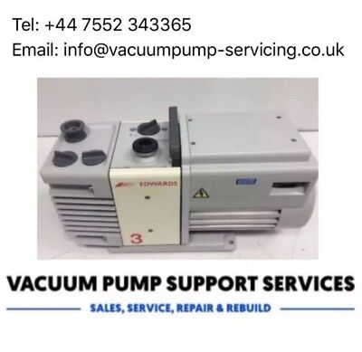 Vacuum Pump- Edwards RV3- 4m3/hr -230v- SERVICED- WARRANTY- FREE DELIVERY-£495