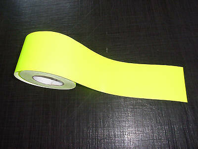 Self Adhesive High Vis Fluorescent Strip 100mm wide