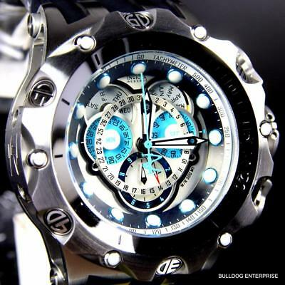 Invicta Reserve Venom Hybrid Master Calendar 52mm Swiss Chronograph Watch New