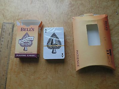 Bell's Whiskey Patience Playing Cards Unopened And Sealed.