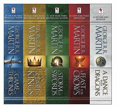 Game of Thrones Ebooks 1-5 A Song of Ice and Fire Kindle Books EPUB/MOBI/PDF