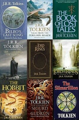 J R R Tolkien eBook Collection 16 Books Kindle The Lord Of The Rings EPUB MOBI
