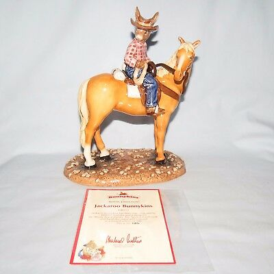 Royal Doulton Australian Exclusive Jackaroo Bunnykins Db512 Box Cert