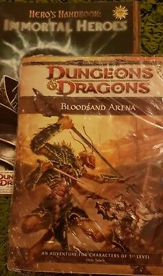 Bloodsand Arena, D&D 4th Ed. (sealed) & Hearts of Chaos/Immortal Heroes, FreeRPG