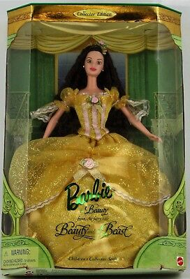 Barbie Beauty & The Beast Belle Doll Children's Coll. Series 1999 3+ NMIB #24673