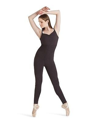 NWT Capezio Sweetheart Jumpsuit, Dance, Ballet  ~ PINK ~ S or M Adult