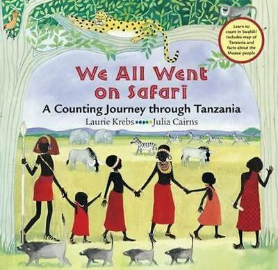 NEW We All Went on Safari By KREBS LAURIE Paperback Free Shipping