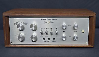 Vintage Marantz 7T Preamplifier Professionally serviced, with wooden case
