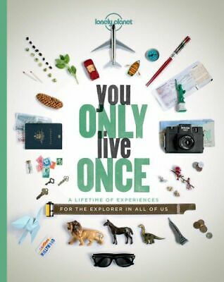 NEW You Only Live Once By Lonely Planet Paperback Free Shipping