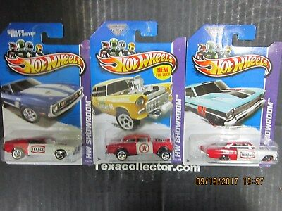 Three Custom Texaco Hot Wheels NIBP #2
