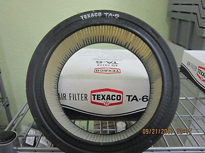6 Different Texaco Quality Line Air Filters NIB