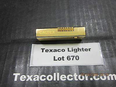 Caltex Texaco Butane  Lighter Mfg By KingLot 670
