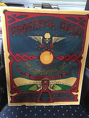 Amazing Original Reverse Painted Grateful Dead Aoxomoxoa Poster - Prison Art