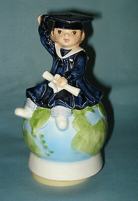 GRADUATION MUSIC BOX Graduate on Top of the World SCHMID JAPAN School Days WORKS