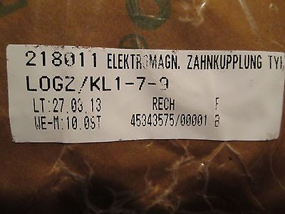 Ortlinghaus Electromagnetic Clutch 100114490 12-13 P10/24V (New)