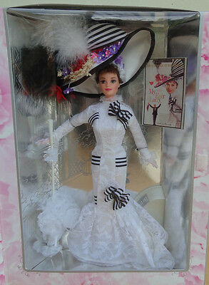 1995 MY FAIR LADY BARBIE Eliza Doolittle in ASCOT DAY AT RACES MIB