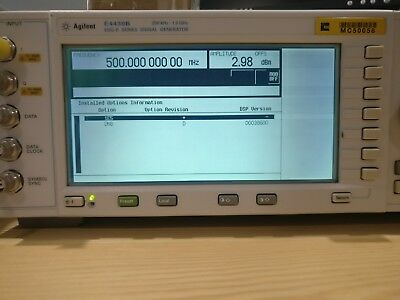 Agilent E4430B ESG-D Series Signal Generator | With Options