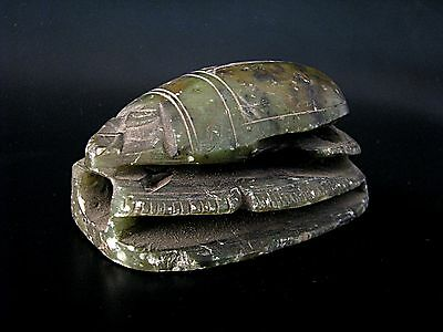 Old Scarab From Egypt Large Size Beautiful Cheap Price Don't Miss*