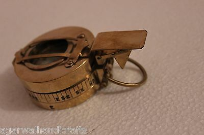 Army Brass Prismatic Compass MK III, T G. Co Ltd, London 1941 Prismatic Compass
