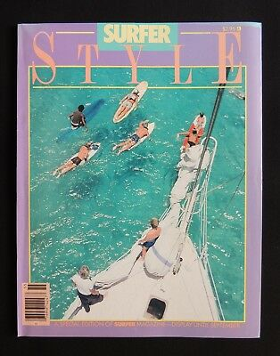 Surfer Style Magazine 1985 Special Edition Hawaii Surfer California