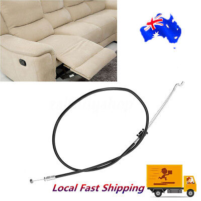 NEW 140mm D Style Sofa Cable Recliner Handle Release Replacement for Couch Chair