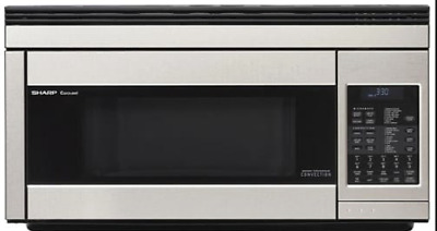 Sharp R1874T 850W Over-the-Range Convection Microwave, 1.1 Cubic Feet, Stainless